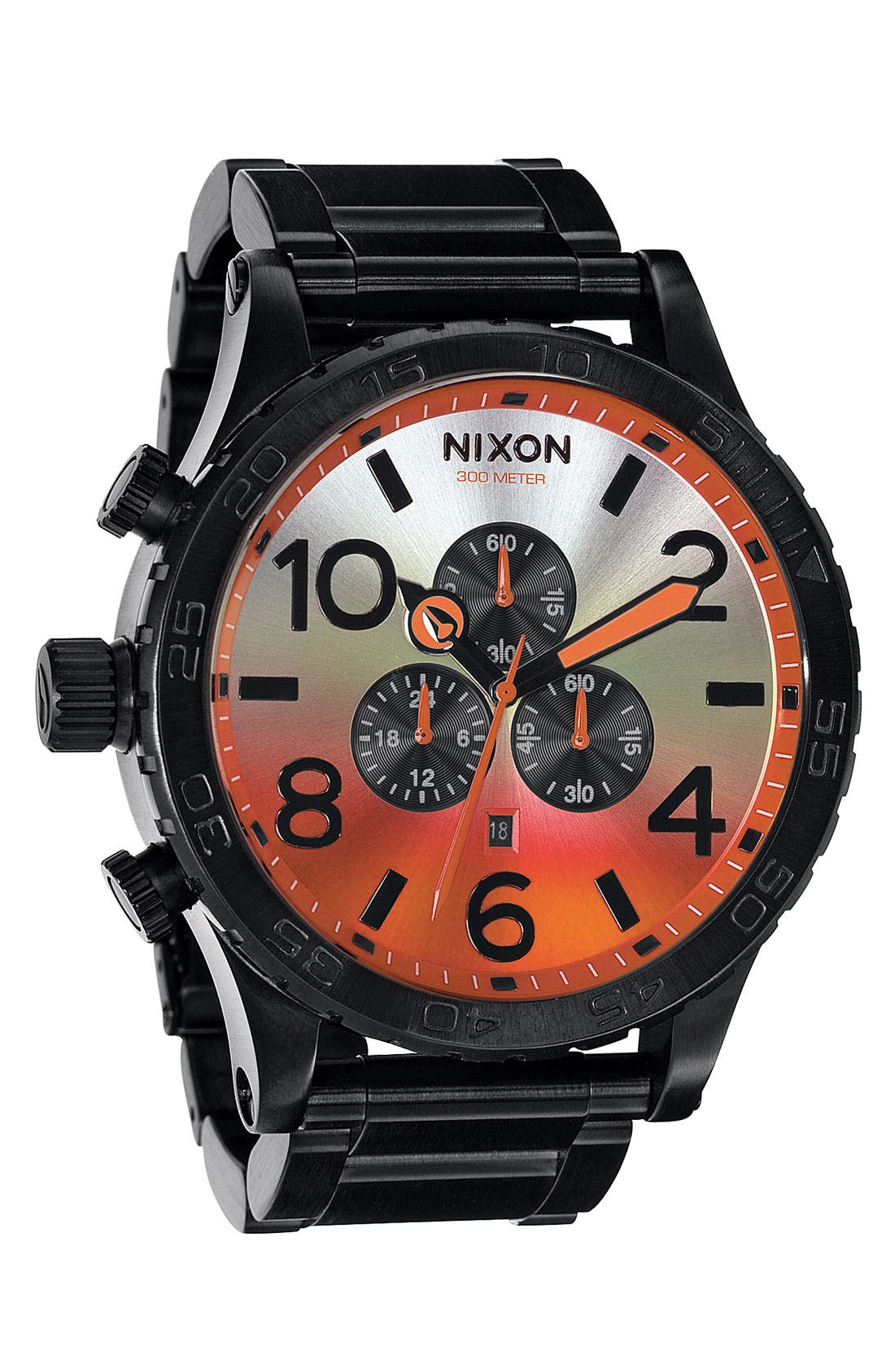 ,                             'The 51-30 Chrono' Watch, 51mm,                             Main thumbnail 38, color,                             002