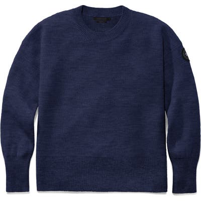Canada Goose Aleza Merino Wool Sweater, Blue