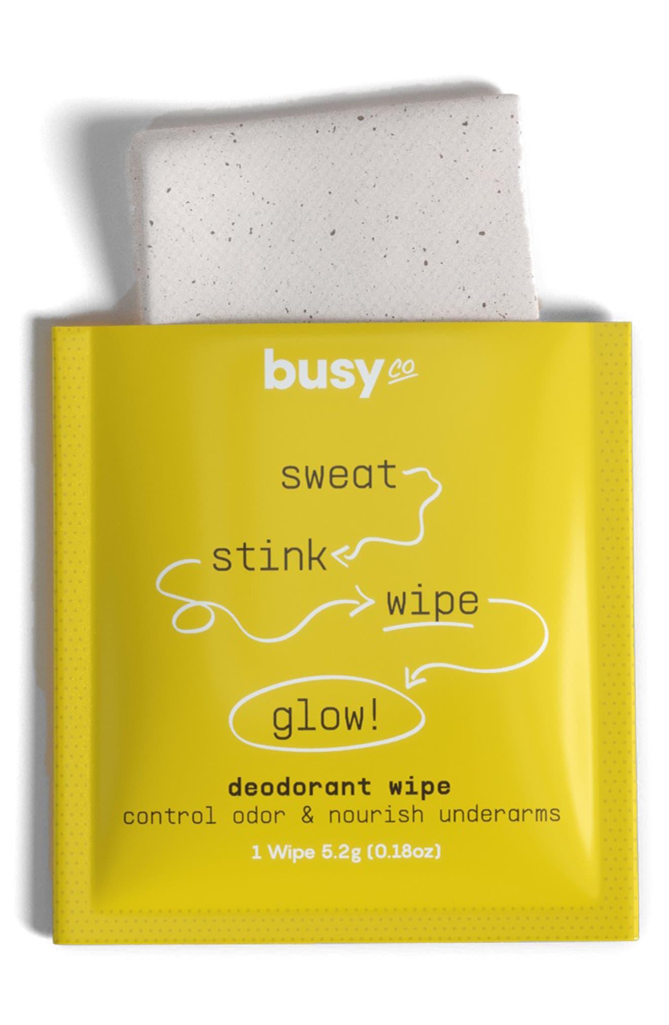 Glow Deodorant Wipes