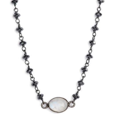 Ela Rae Semiprecious Stone Collar Necklace