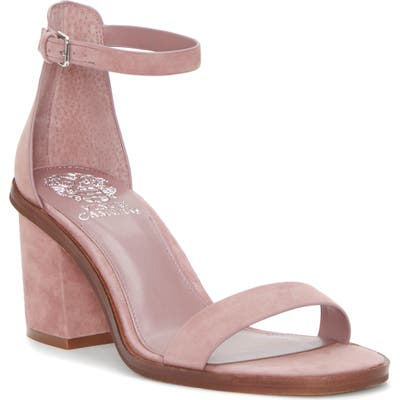 Vince Camuto Kreestey Ankle Strap Sandal- Pink