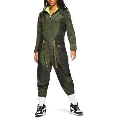 Nike Jordan Flight Jumpsuit, Green