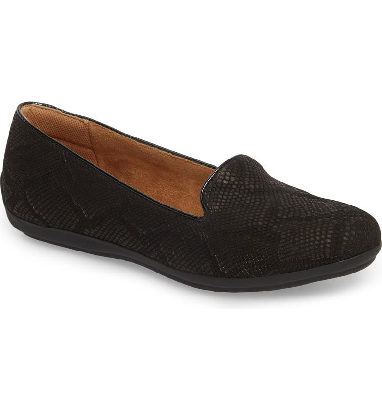 COMFORTIVA Marybeth Loafer, Main, color, BLACK