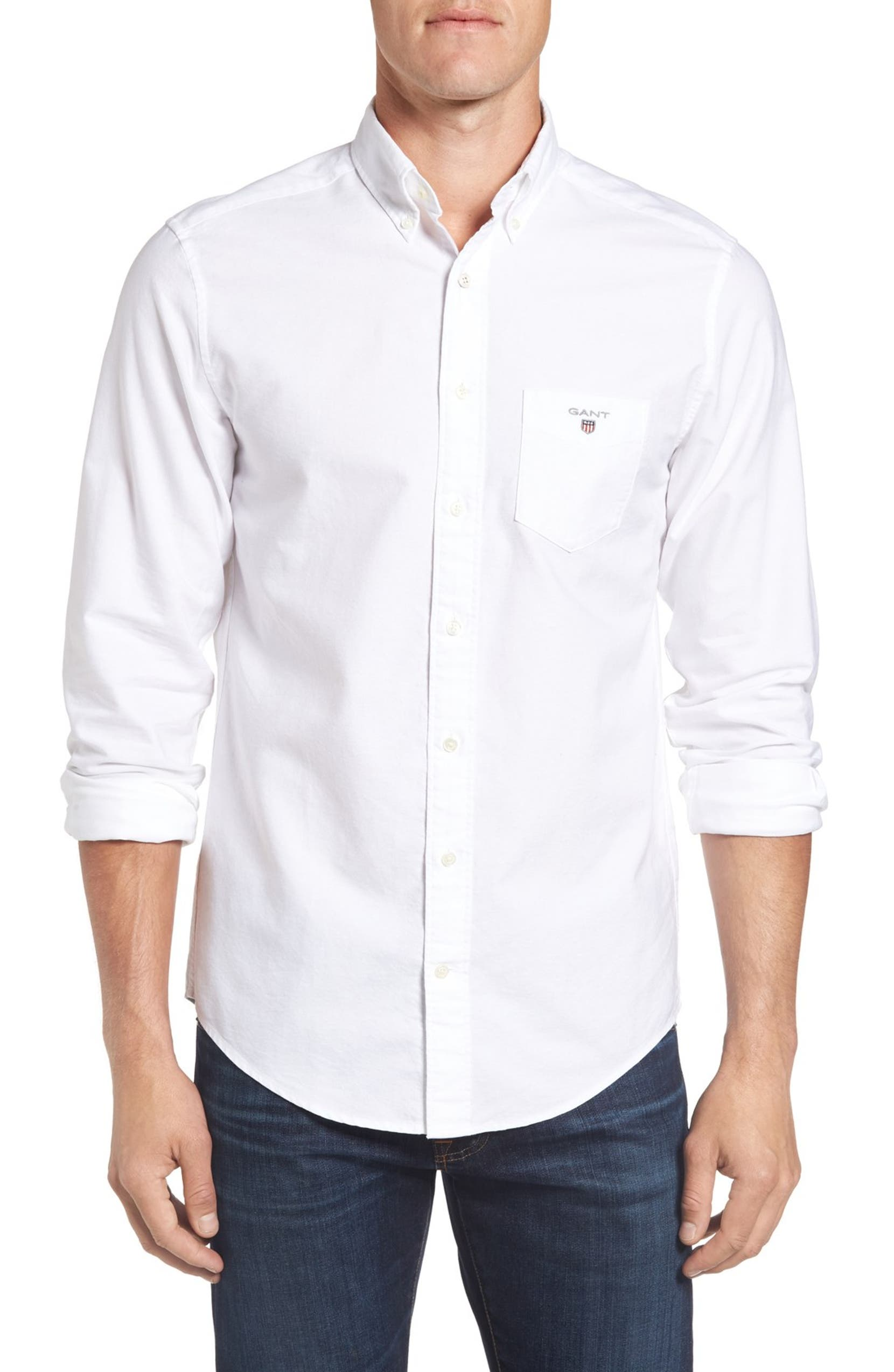 factory authentic fac2e 52f4e Oxford Fitted Sport Shirt