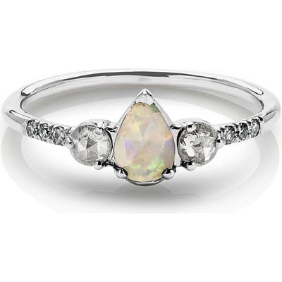 Maniamania Radiance Opal & Diamond Ring