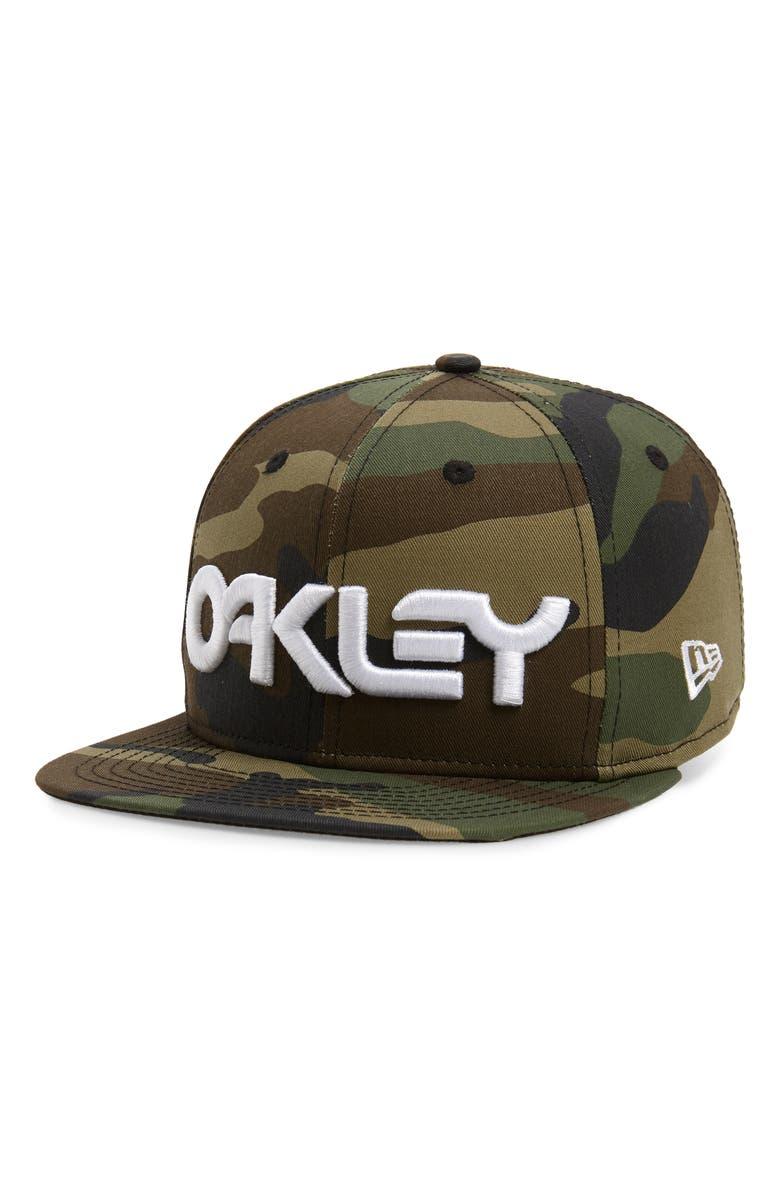 OAKLEY Mark II Embroidered Baseball Cap, Main, color, CORE CAMO