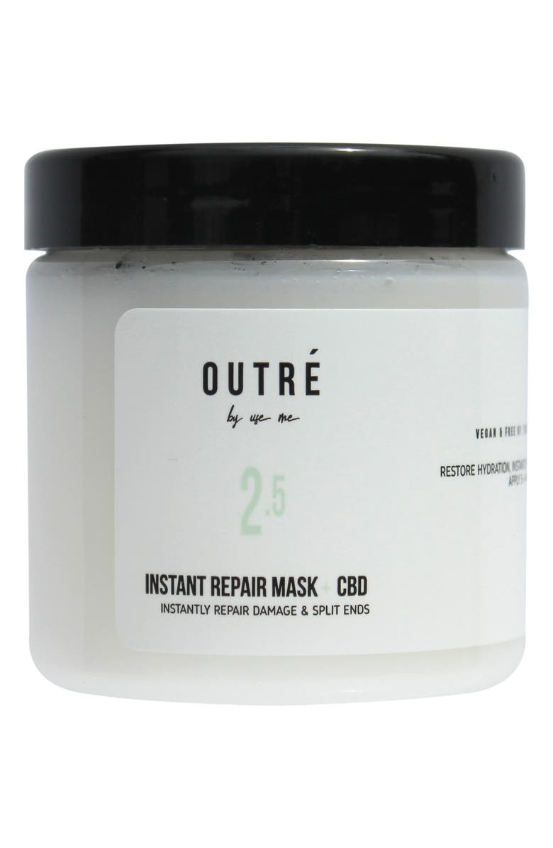 OUTRE Outré Beauty Instant Repair Hair Mask + CBD, Main, color, NO COLOR