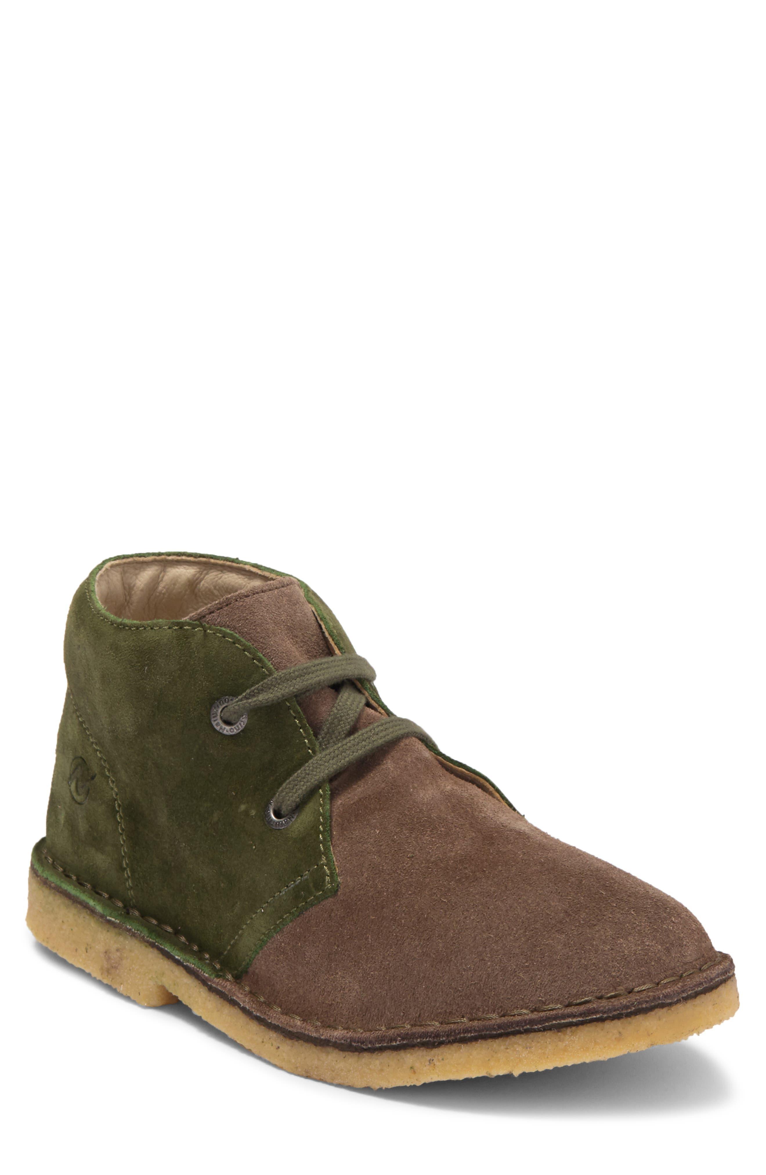 Image of Naturino Two-Tone Suede Chukka Boot