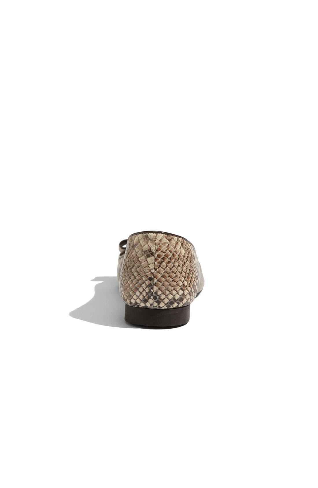 ,                             'elise' leopard print calf hair flat,                             Alternate thumbnail 8, color,                             250