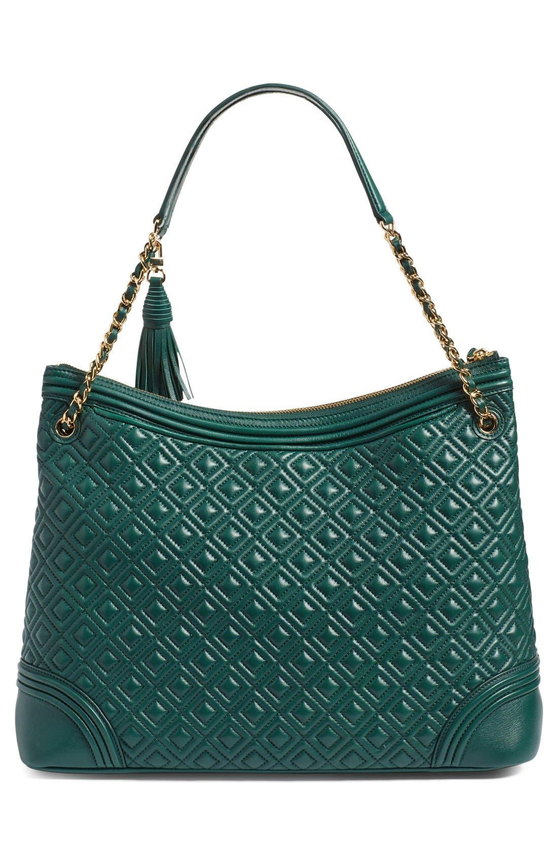 ,                             'Fleming' Leather Shoulder Bag,                             Alternate thumbnail 19, color,                             318