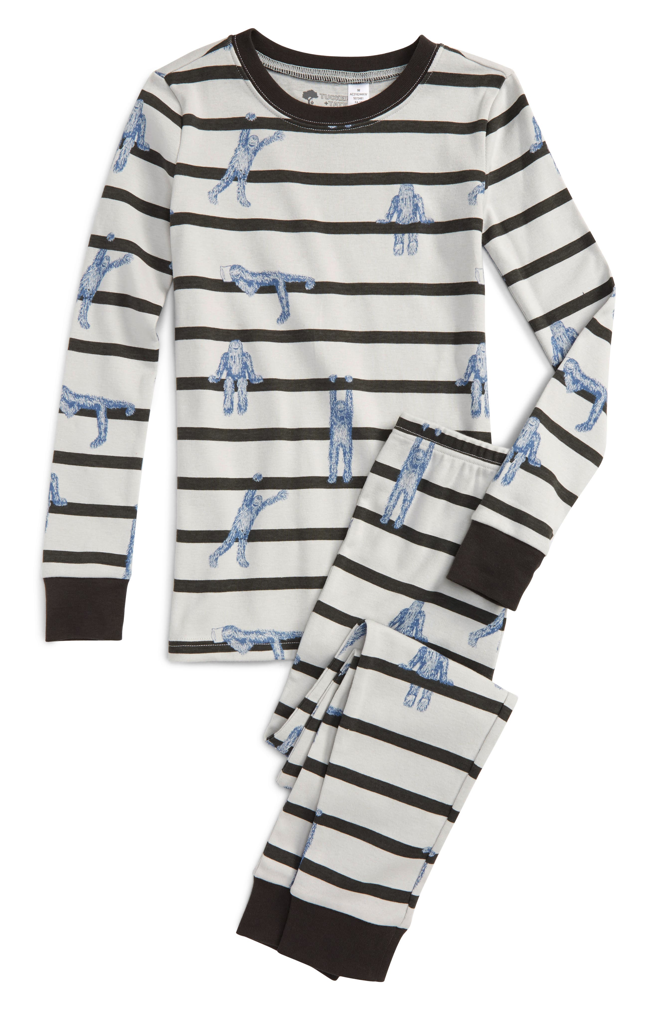 ,                             Fitted Two-Piece Pajamas,                             Main thumbnail 27, color,                             050