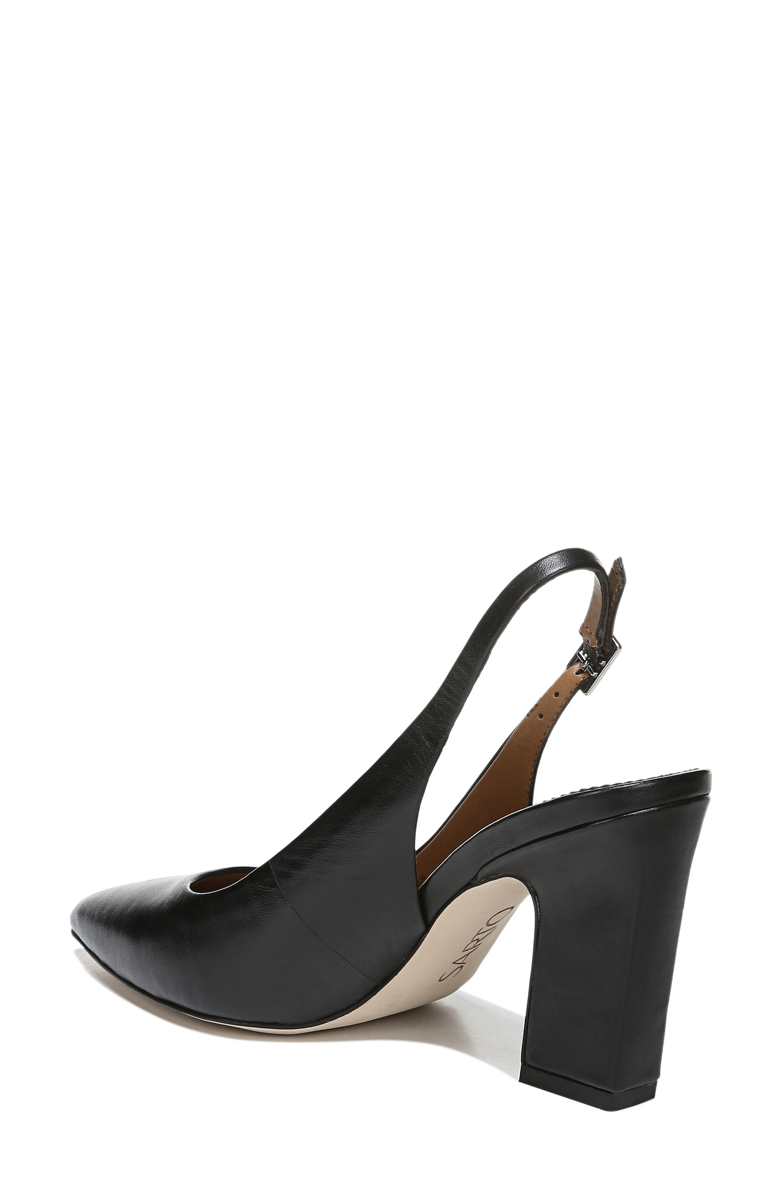 ,                             Sophie Pointy Toe Slingback Pump,                             Alternate thumbnail 2, color,                             BLACK PATENT LEATHER