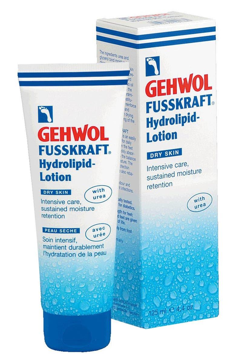 GEHWOL<SUP>®</SUP> FUSSKRAFT<sup>®</sup> Hydrolipid Lotion, Main, color, NO COLOR