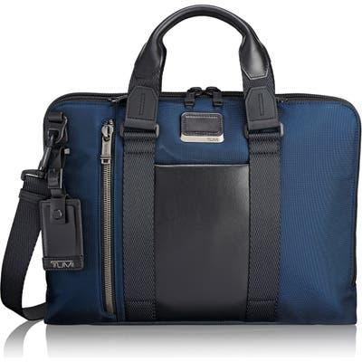 Tumi Alpha Bravo Aviano Briefcase - Blue