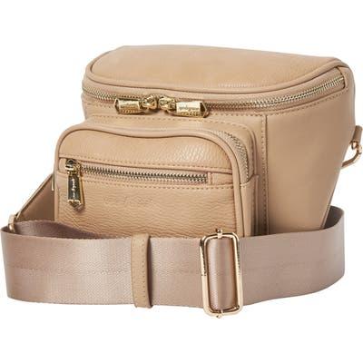 Urban Originals High Impact Vegan Leather Shoulder Bag - Beige