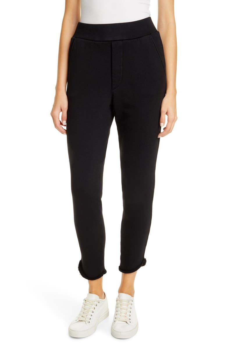FRANK & EILEEN Tee Lab The Trouser Sweatpants, Main, color, BLACK