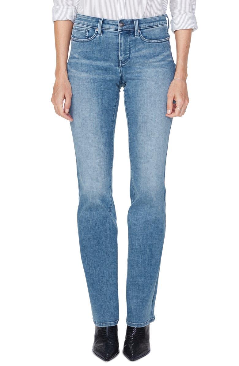 NYDJ Barbara High Waist Bootcut Jeans, Main, color, BRICKELL