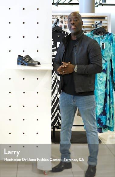 Reece Cap Toe Double Monk Strap Shoe, sales video thumbnail