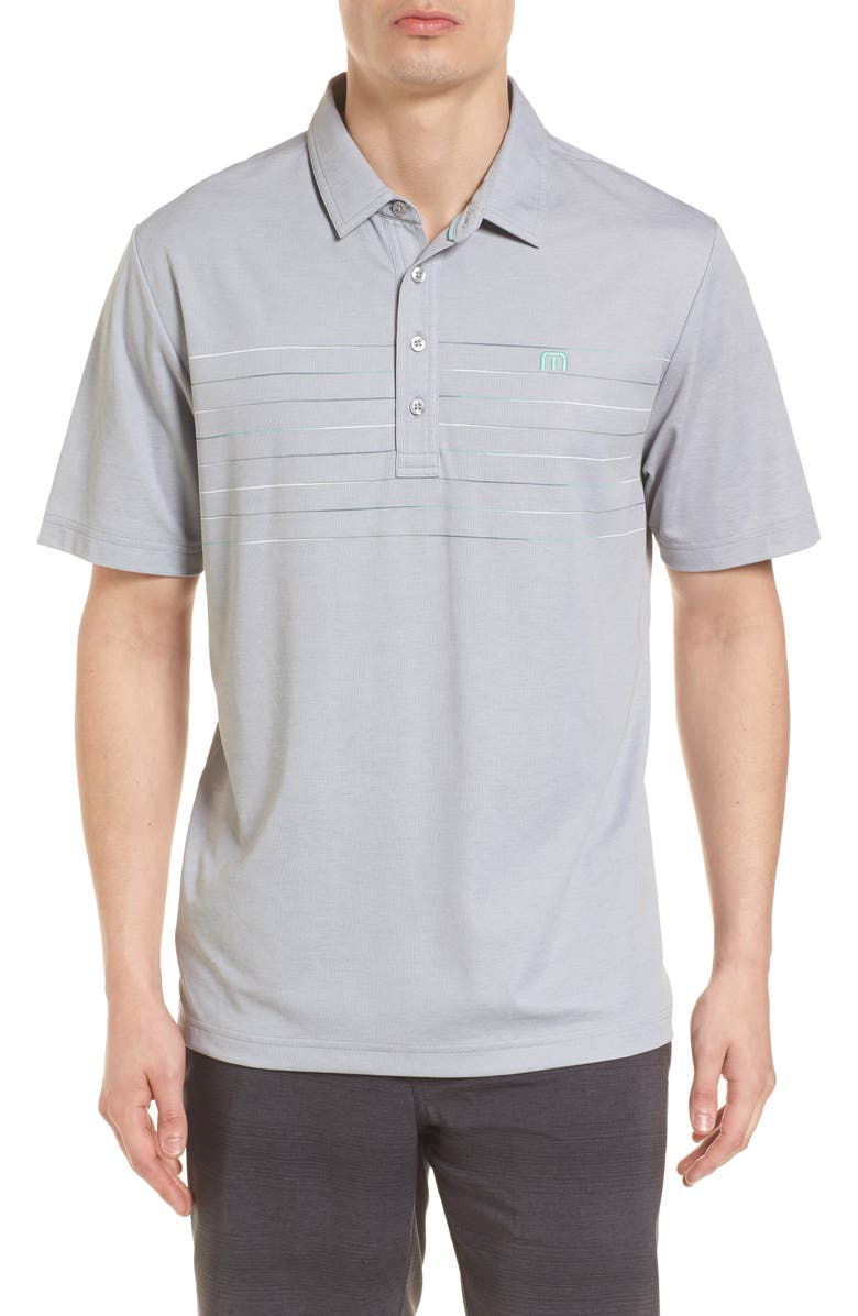 TRAVISMATHEW Good Good Polo Shirt, Main, color, 020