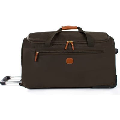 Brics X-Bag 28-Inch Rolling Duffle Bag - Green