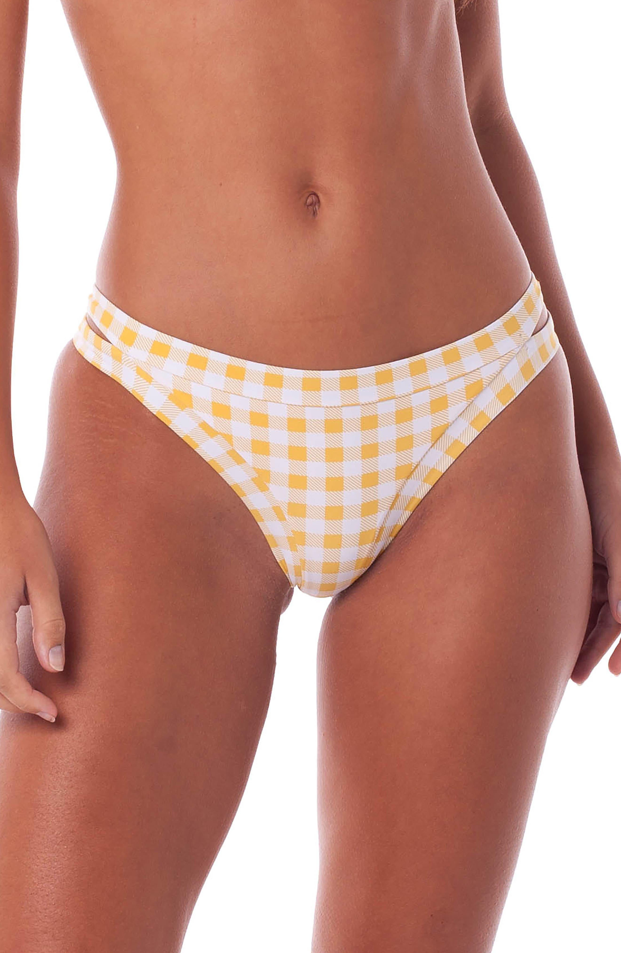 Rhythm Lolita Itsy Bikini Bottoms, Orange