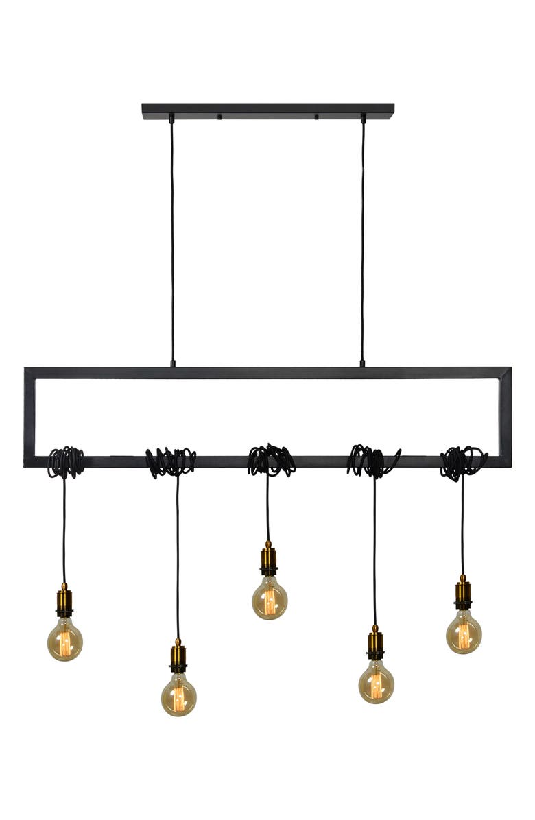 RENWIL Madeira Ceiling Fixture, Main, color, BLACK