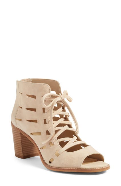 Image of Vince Camuto Tressa Perforated Lace-Up Sandal