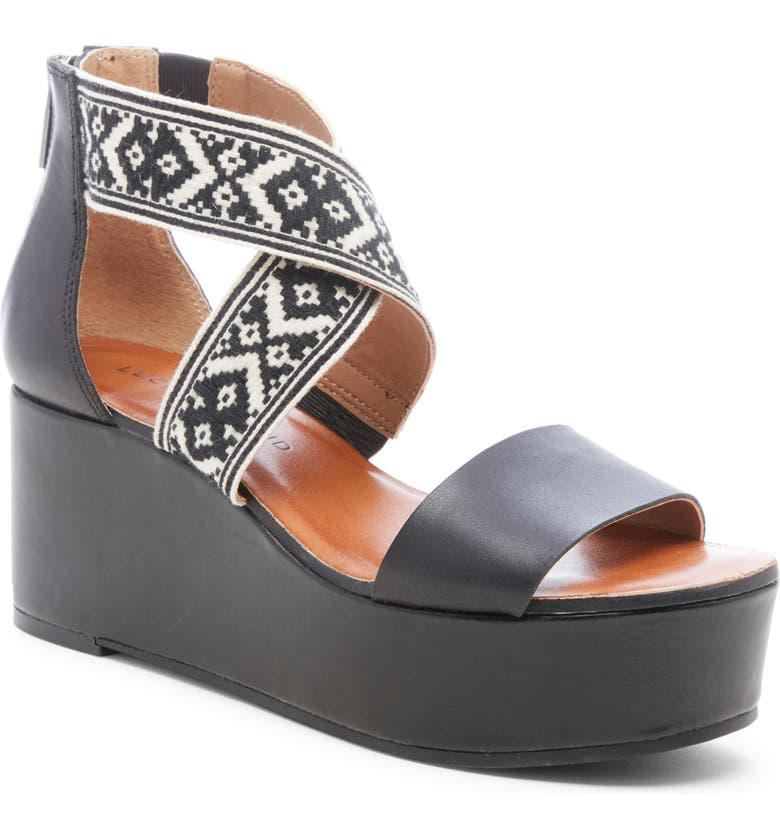 Lucky Brand Gwindolin Platform Wedge Sandal Women