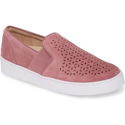 Vionic Kani Perforated Slip-On Sneaker- Pink