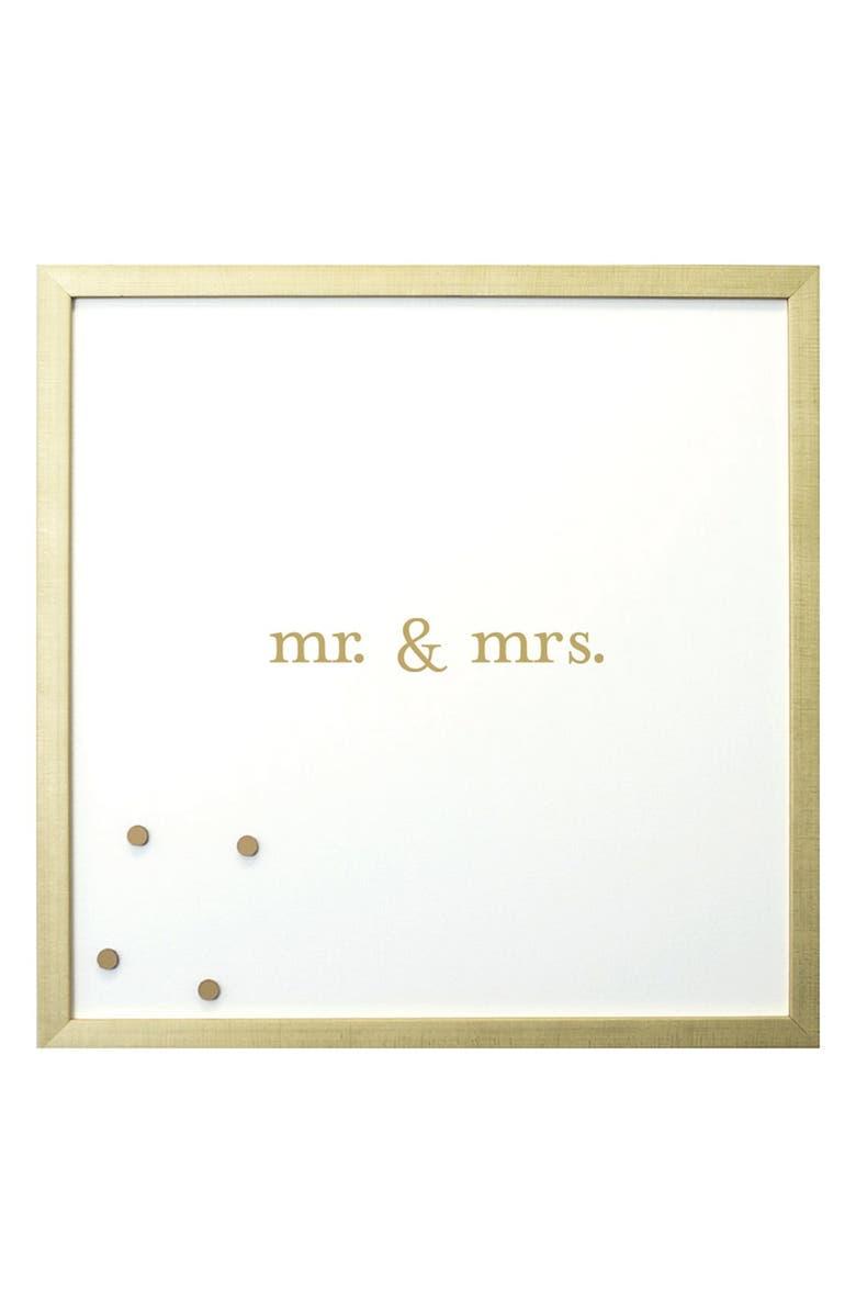 PETAL LANE 'Mr. & Mrs.' Magnet Board, Main, color, 710