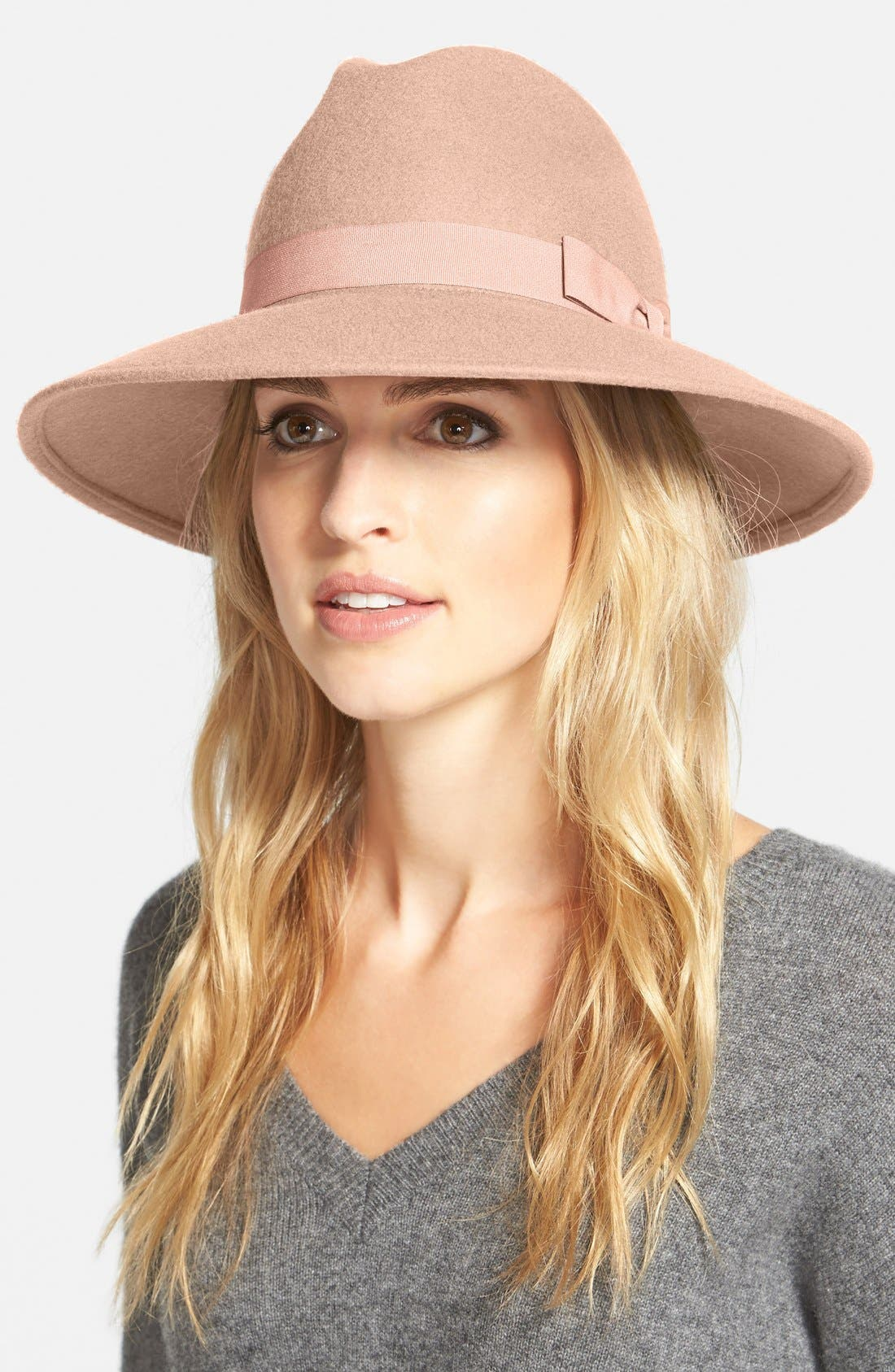 ,                             'Luxe' Felt Panama Hat,                             Main thumbnail 4, color,                             650