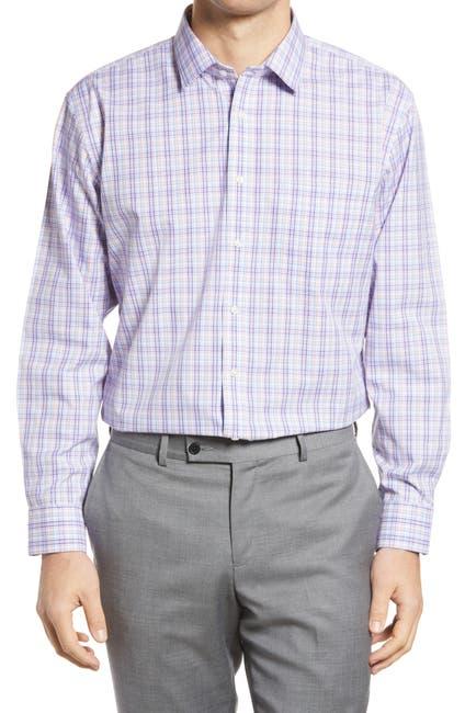 Image of NORDSTROM MEN'S SHOP Multi Check Slim Fit Dress Shirt