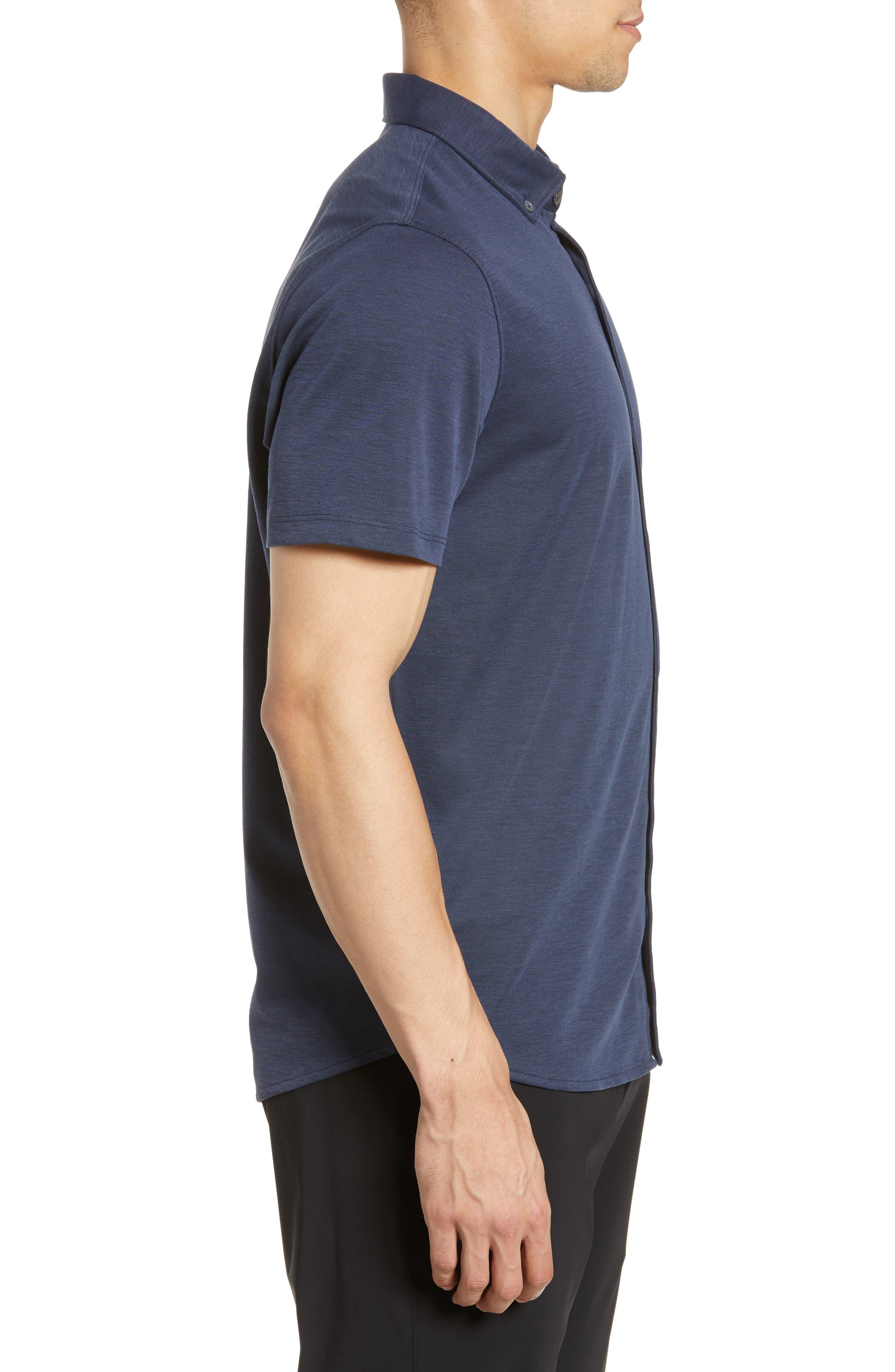 ,                             Caruth Regular Fit Short Sleeve Sport Shirt,                             Alternate thumbnail 21, color,                             410