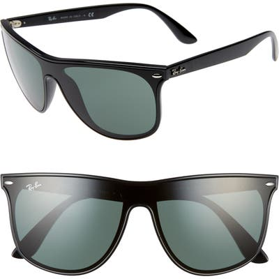 Ray-Ban Blaze 55Mm Sunglasses - Black