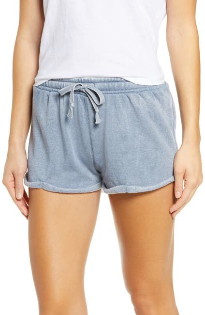 Image of Vintage Havana Burnout Fleece Shorts