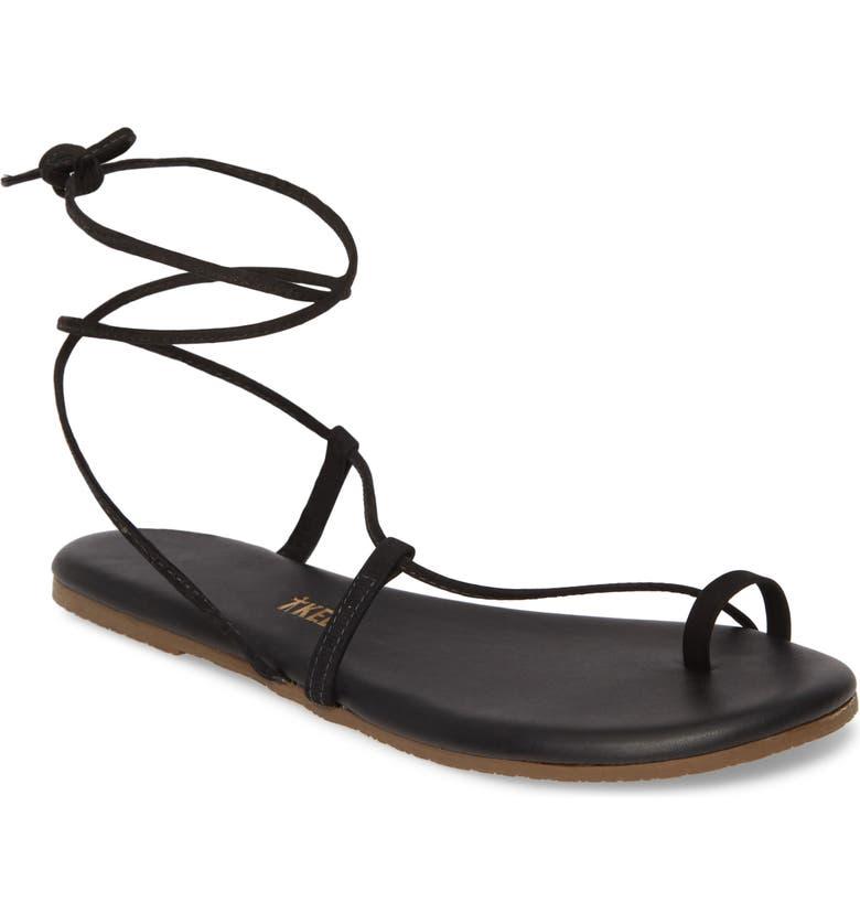 TKEES Jo Lace-Up Sandal, Main, color, BLEEKER