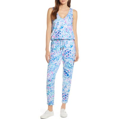 Lilly Pulitzer Paulina Jumpsuit, Blue