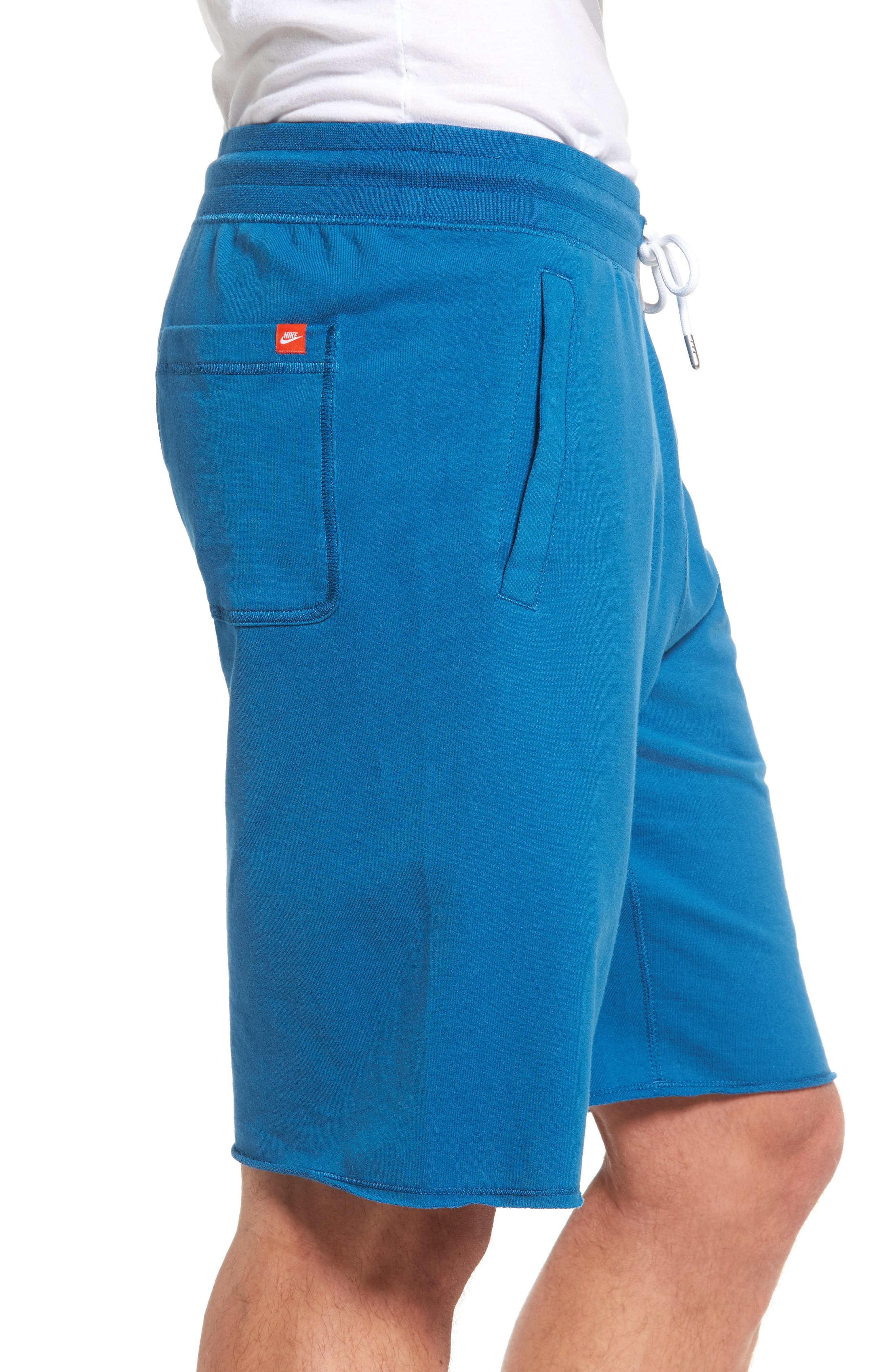 ,                             'NSW' Logo French Terry Shorts,                             Alternate thumbnail 26, color,                             457