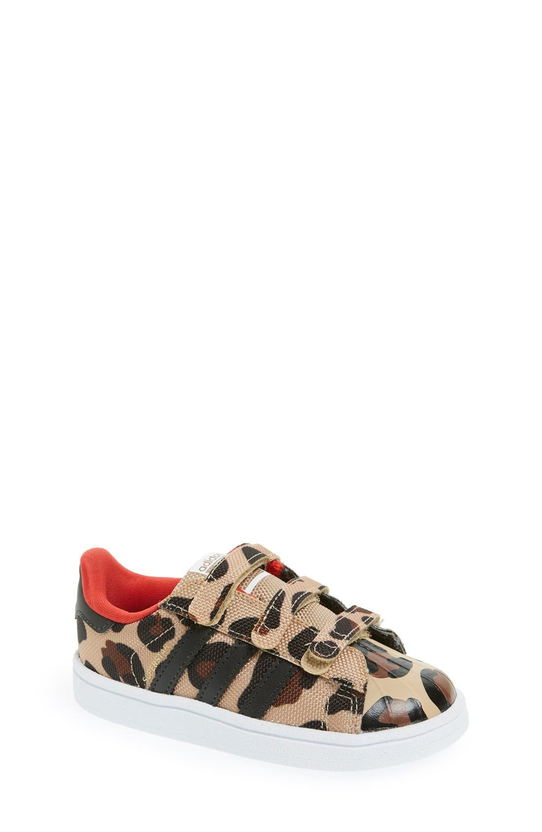 adidas 'Superstar - Leopard' Sneaker