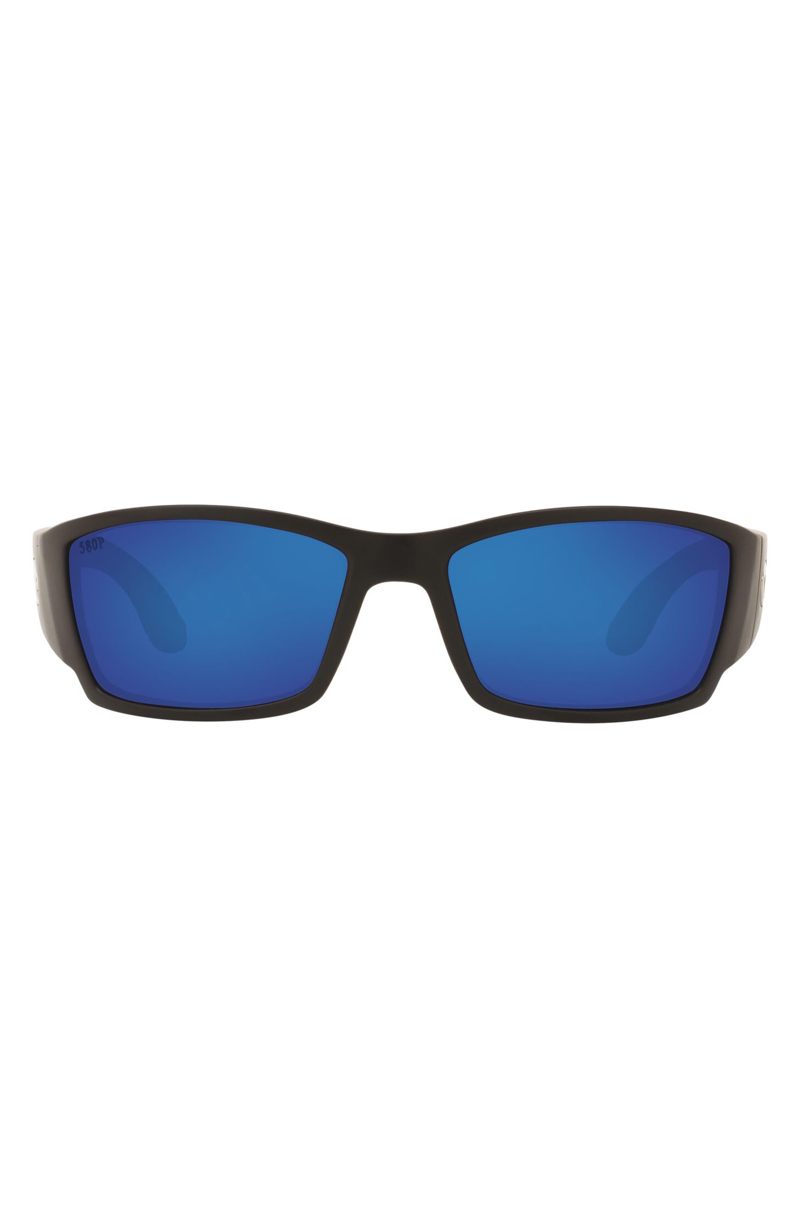 61mm Polarized Wraparound Sunglasses