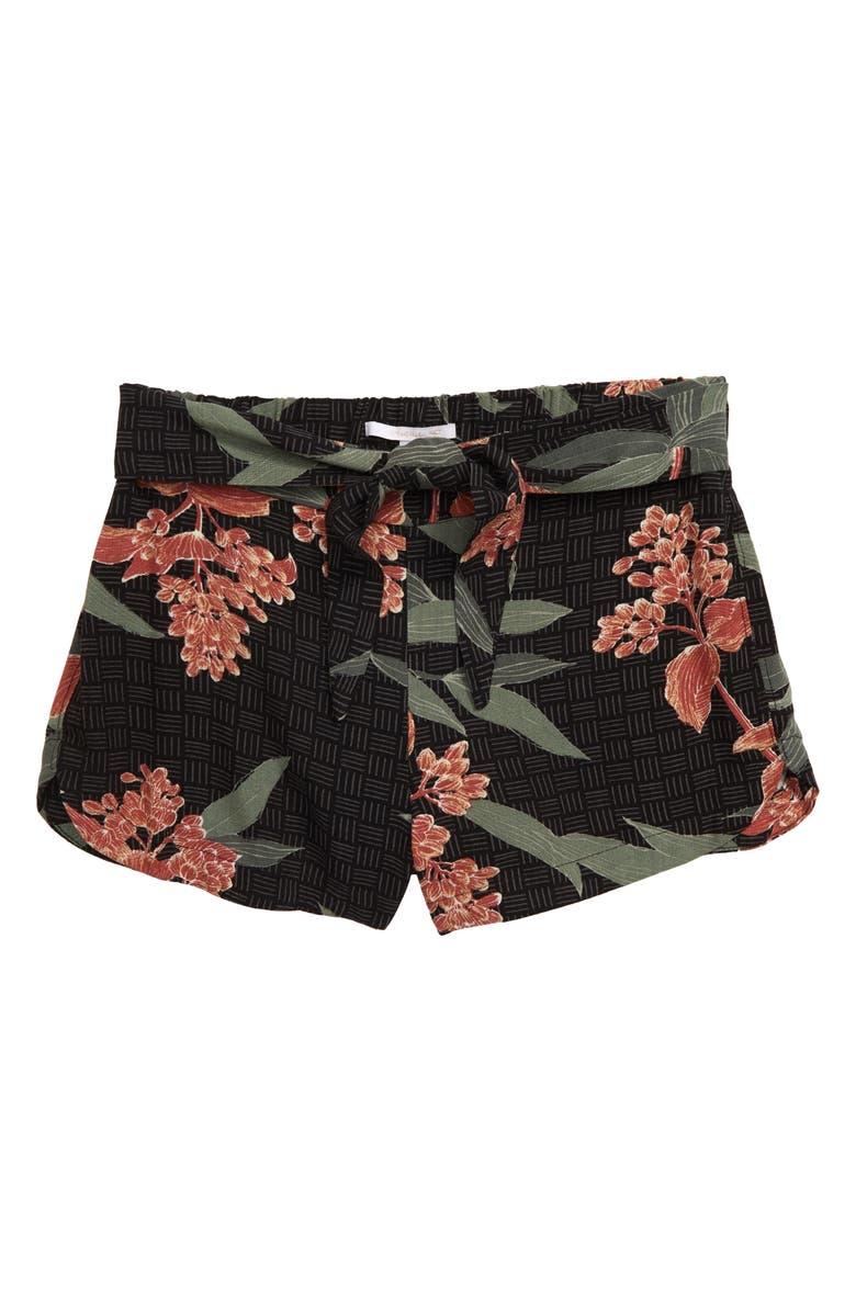 O'NEILL Sophee Woven Shorts, Main, color, BLACK