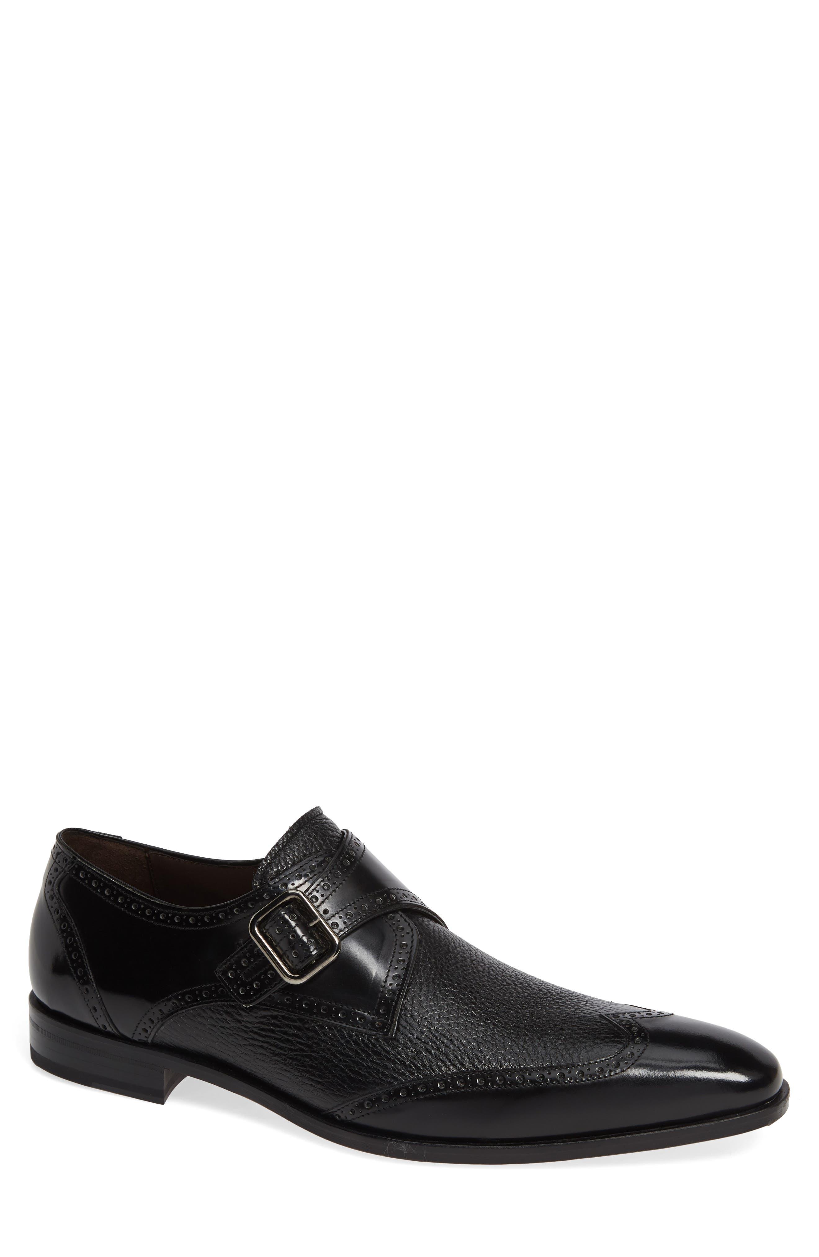 Senator Monk Strap Shoe