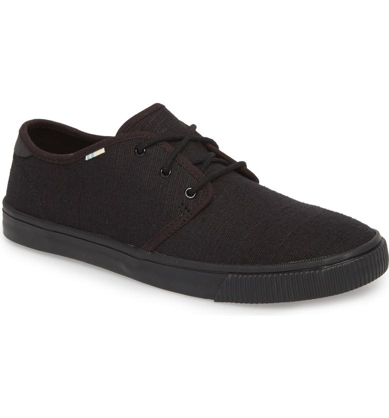 TOMS Carlo Low Top Sneaker, Main, color, 001