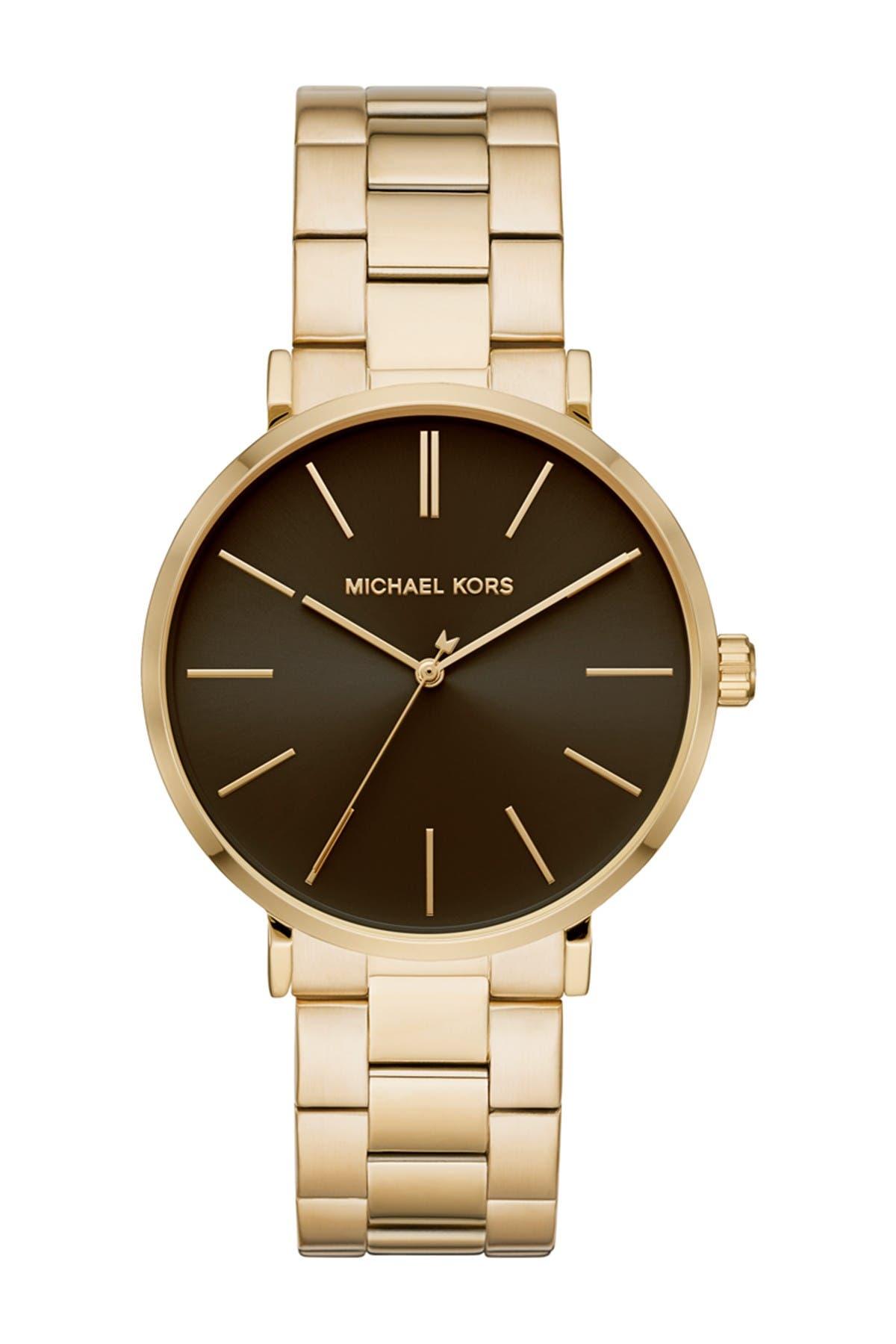 Image of MICHAEL Michael Kors Men's Auden Bracelet Watch, 42mm