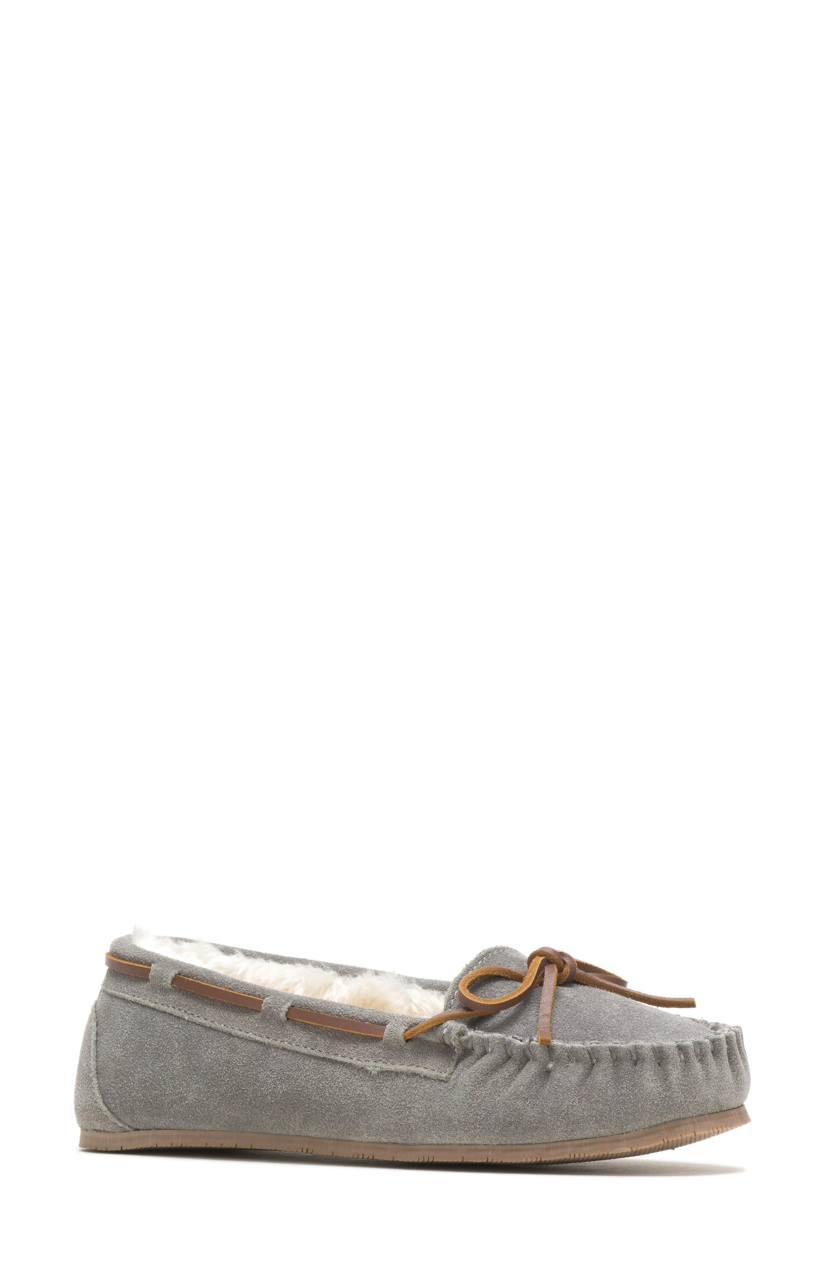 Zoe Water Resistant Moccasin Slipper