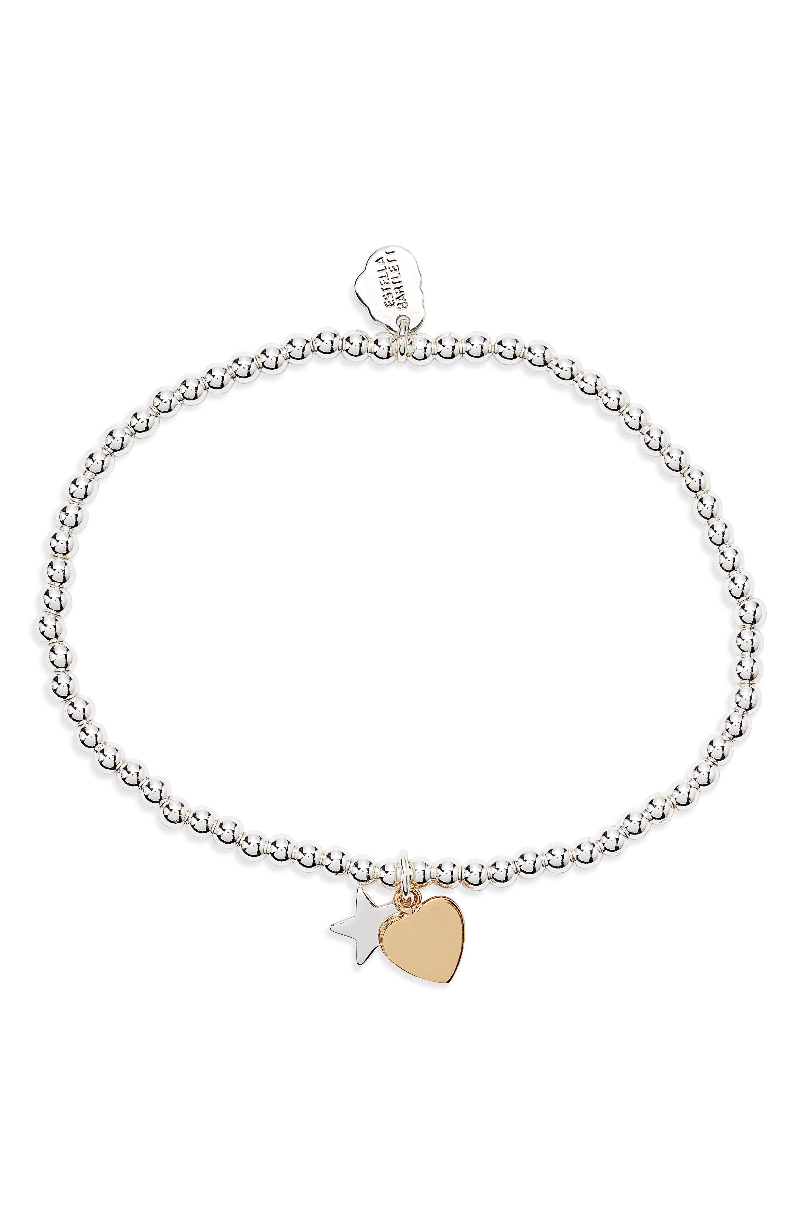 Sienna Heart & Moon Charm Bracelet