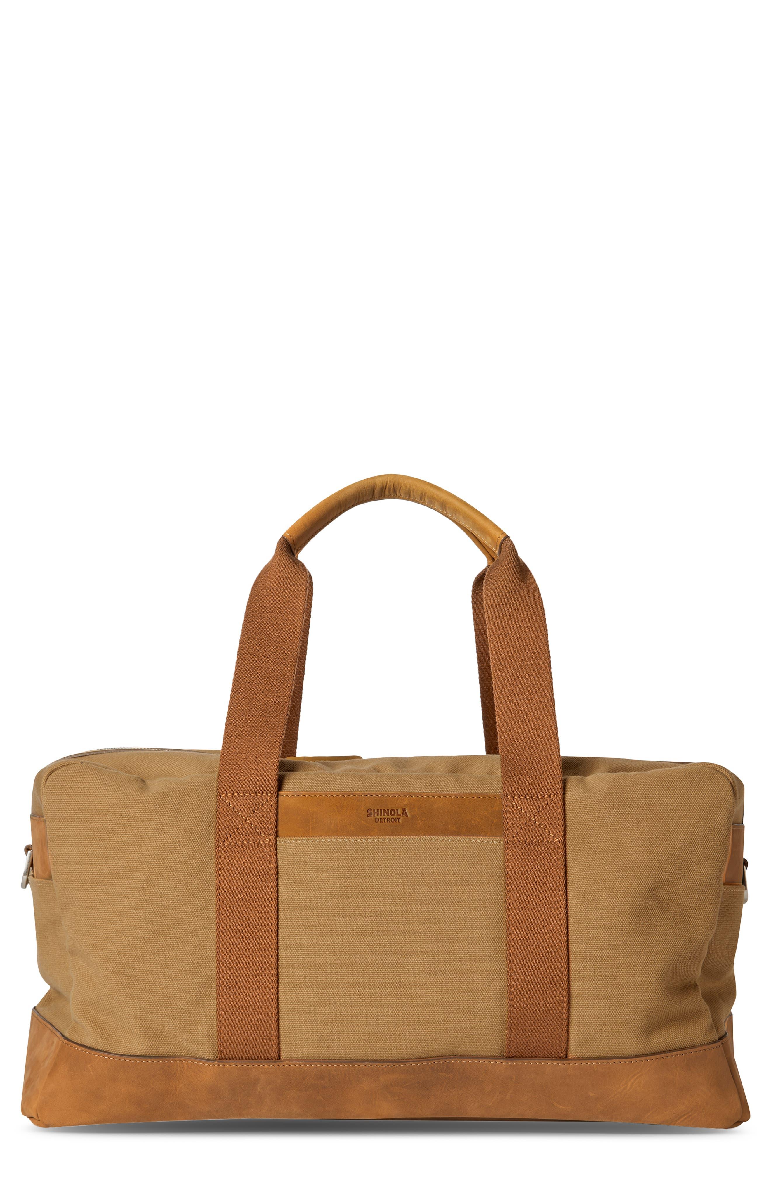 Mack Water Resistant Canvas Duffle Bag