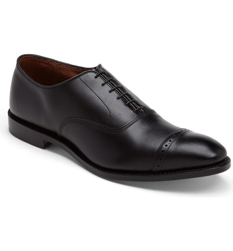 ALLEN EDMONDS 'Fifth Avenue' Oxford, Main, color, BLACK CUSTOM CALF