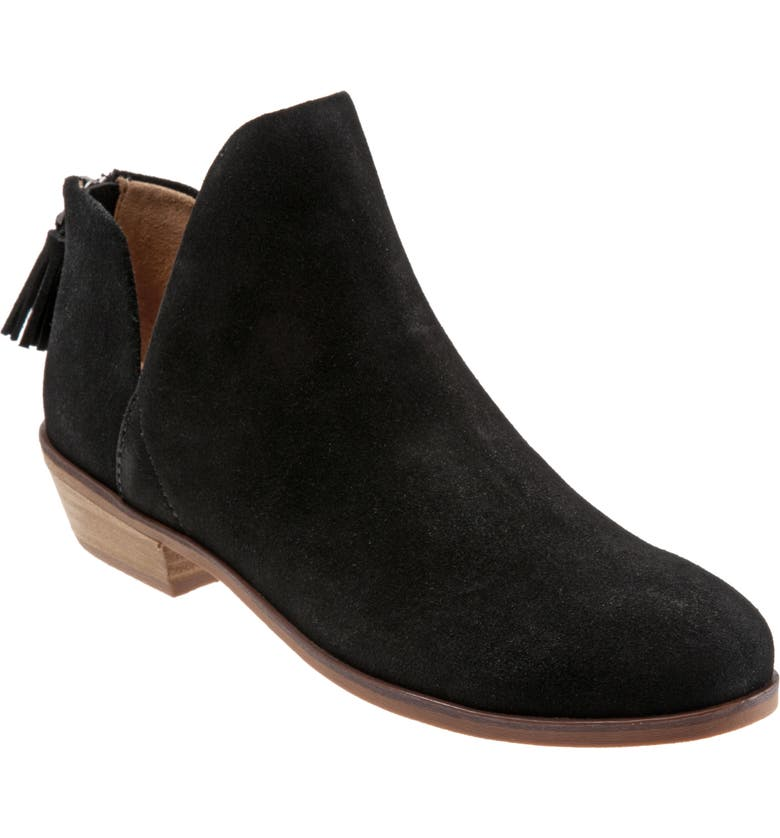 SOFTWALK<SUP>®</SUP> Rylee Bootie, Main, color, BLACK LEATHER