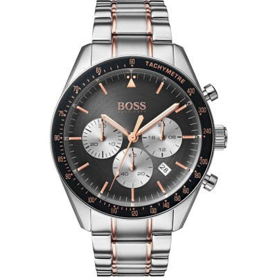 Boss Trophy Chronograph Bracelet Watch, 4m